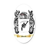 Sneed Oval Car Magnet