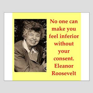 Eleanor Roosevelt quote Posters