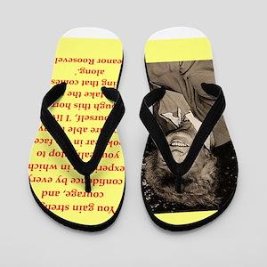 Eleanor Roosevelt quote Flip Flops