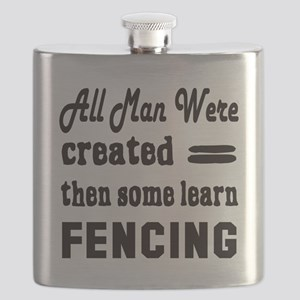 Some Learn Fencing Flask