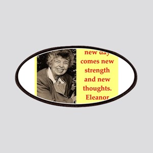 Eleanor Roosevelt quote Patch