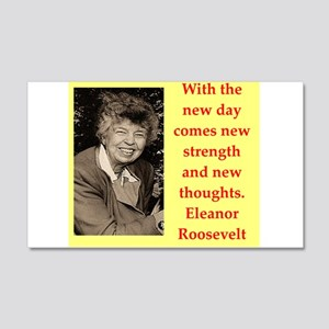 Eleanor Roosevelt quote Wall Decal