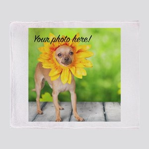 Your Pet Photo Throw Blanket