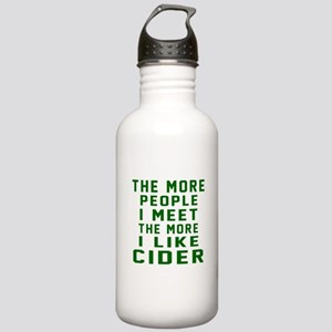 I Like Cider Stainless Water Bottle 1.0L