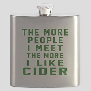 I Like Cider Flask