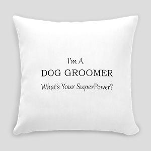 Dog Groomer Everyday Pillow