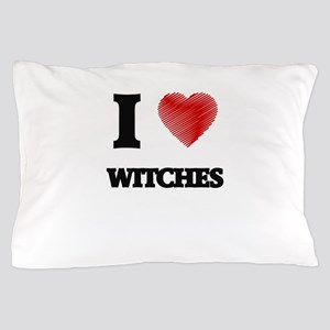 I love Witches Pillow Case