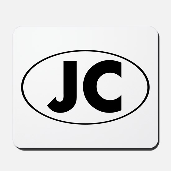JC Oval Mousepad