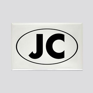 JC Oval Rectangle Magnet