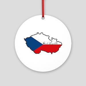 Cool Czech Republic Ornament (Round)