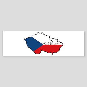 Cool Czech Republic Bumper Sticker