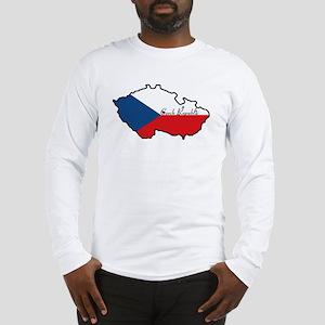 Cool Czech Republic Long Sleeve T-Shirt