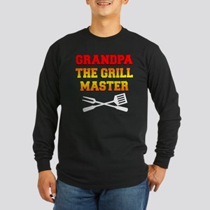 Grandpa The Grill Master Long Sleeve T-Shirt