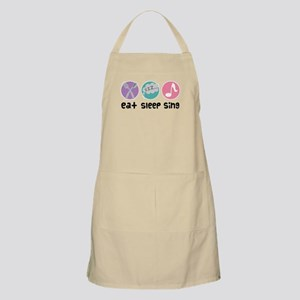 Choir Eat Sleep Sing Music Apron