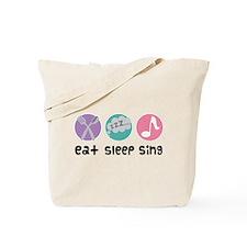 Choir Eat Sleep Sing Music Tote Bag