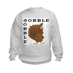 Gobble Gobble Turkey Kids Sweatshirt