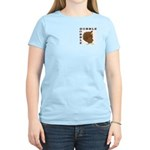 Gobble Gobble Turkey Women's Light T-Shirt