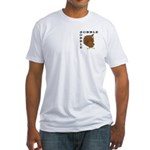Gobble Gobble Turkey Fitted T-Shirt
