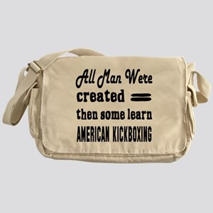 Some Learn American kickboxing Messenger Bag
