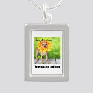 Custom Photo And Text Necklaces