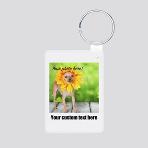 Custom Photo And Text Keychains