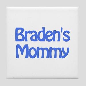 Braden's Mommy Tile Coaster