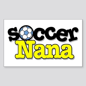 Soccer Nana Rectangle Sticker