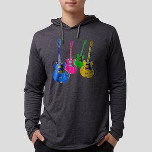 Four Guitars Long Sleeve T-Shirt