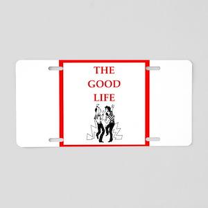 jitterbug Aluminum License Plate