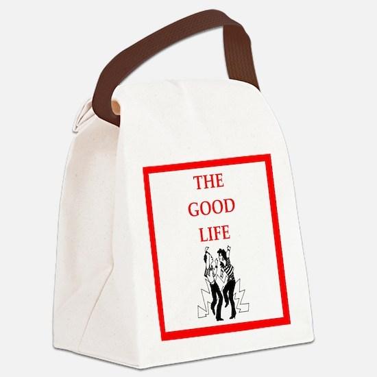 jitterbug Canvas Lunch Bag