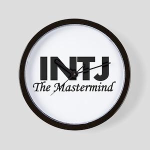 INTJ | The Mastermind Wall Clock