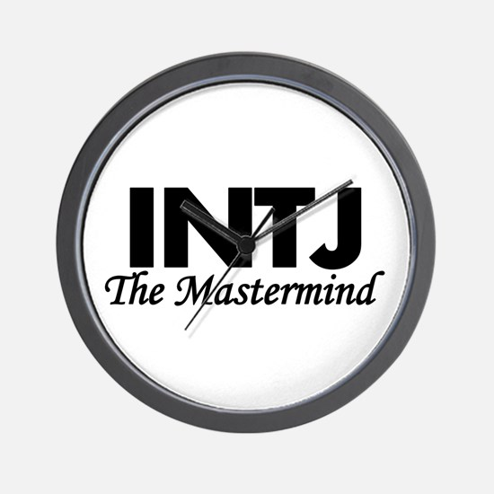 INTJ | The Mastermind Wall Clock