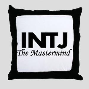 INTJ | The Mastermind Throw Pillow