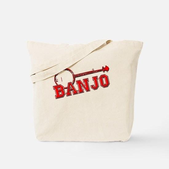 Red Banjo Tote Bag
