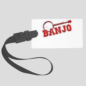 Red Banjo Luggage Tag