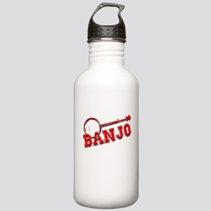 Red Banjo Water Bottle
