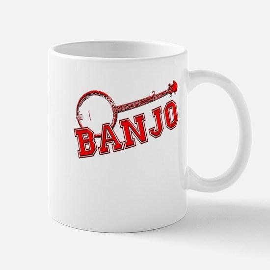 Red Banjo Mugs