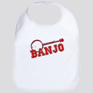 Red Banjo Bib