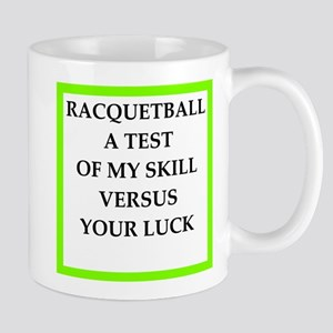 racquetball joke Mugs