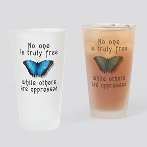 noonefree Drinking Glass