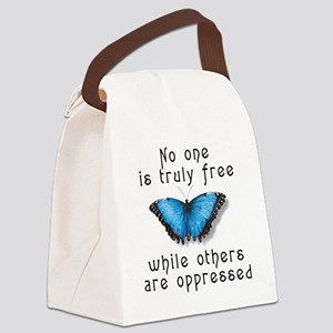 noonefree Canvas Lunch Bag