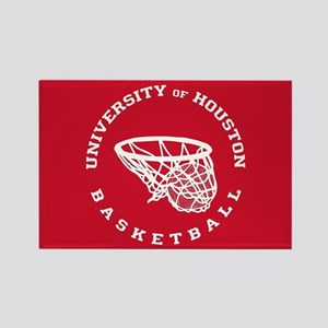 University of Houston Basketball Rectangle Magnet