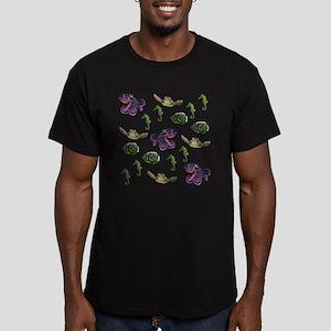 Sea life Men's Fitted T-Shirt (dark)