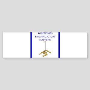 horseshoes joke Bumper Sticker
