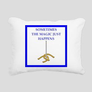 horseshoes joke Rectangular Canvas Pillow