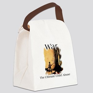 childabuse Canvas Lunch Bag