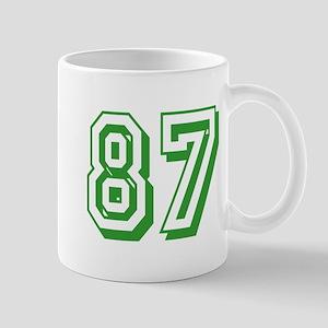 87 Green Birthday Mug