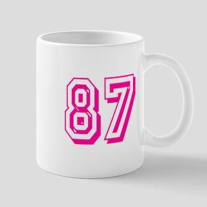 87 Pink Birthday Mug