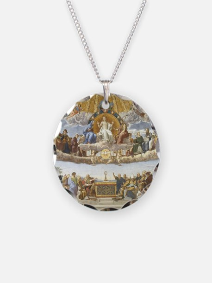 Disputa by Raphael Necklace
