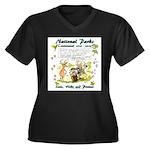 National Parks Centennial Plus Size T-Shirt